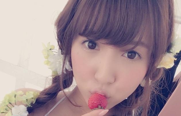 SKE48「鬼頭桃菜」のセクシー画像①